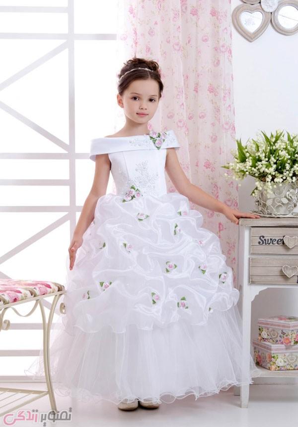 مدل لباس عروس جدید بچه گانه
