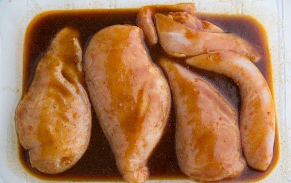 پخت مرغ با طعم تند و شیرین
