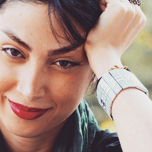 عکس ساناز زرین مهر , کشف حجاب
