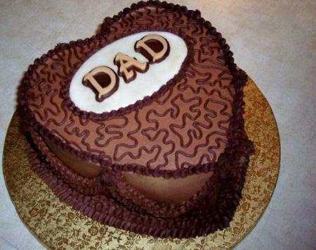 کیک های روز پدر, مدل تزیین کیک روز مرد