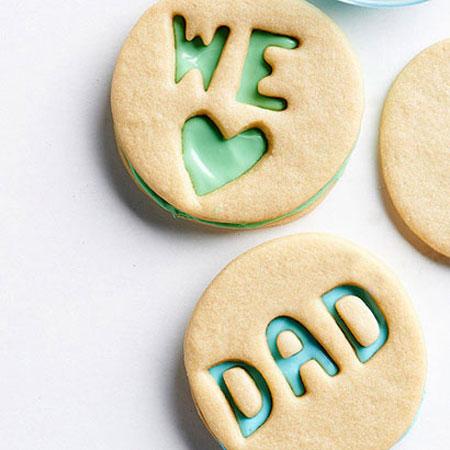 کاپ کیک روز پدر , کوکی روز پدر