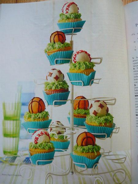 نان، شیرینی، دسر  , تزیین کیک روز پدر / کاپ کیک روز پدر