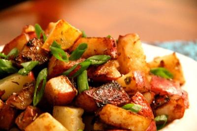 دستور پخت غذا  , طرز تهیه سیب زمینی سرکه ای خوشمزه