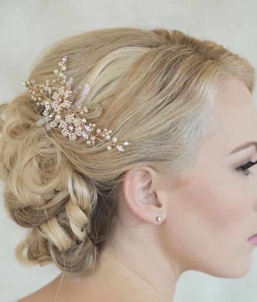 مدل تاج عروس , مدل موی عروس