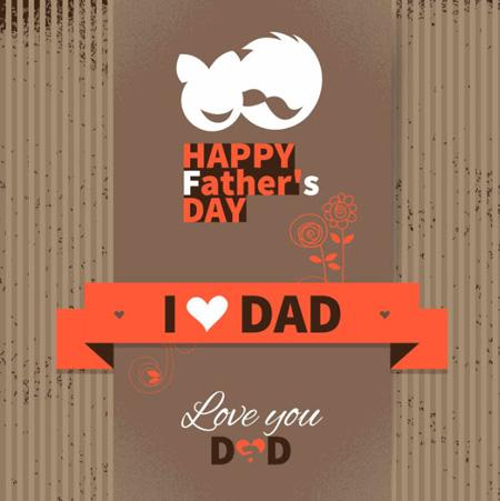 کارت پستال  , کارت تبریک روز پدر + تصویر متحرک