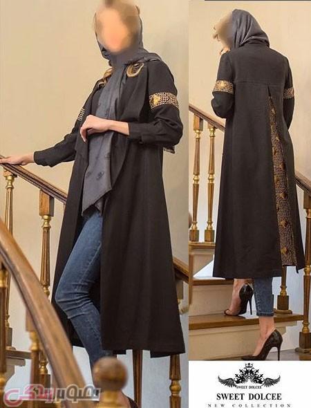 جدیدترین مدل مانتو زنانه , مدل مانتو بلند