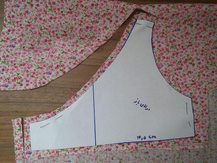 آموزش دوخت شومیز بچگانه