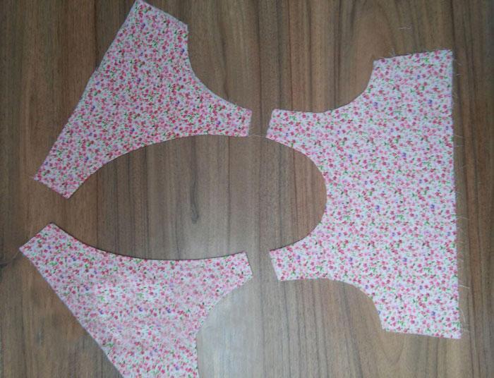 آموزش تصویری خیاطی, دوخت لباس دخترانه