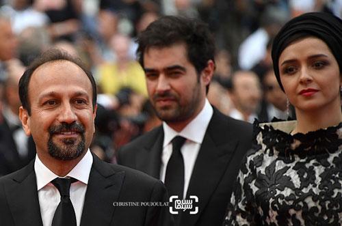 اصغر فرهادی, ترانه علیدوستی , شهاب حسینی در جشنواره فیلم کن