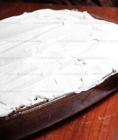طرز تهیه کیک سه شیر سه شکلاتی