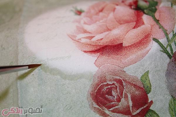 آموزش دکوپاژ روی صابون / تزیین صابون عروس • مجله تصویر زندگی