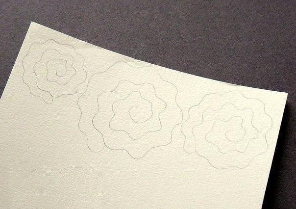 آموزش گلسازی, ساخت گل رز مقوایی