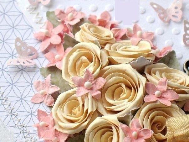 آموزش ساخت دسته گل, ساخت گل رز کاغذی