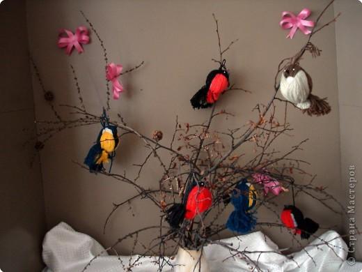 درست کردن پرنده کاموایی,ساخت پرنده با کاموا