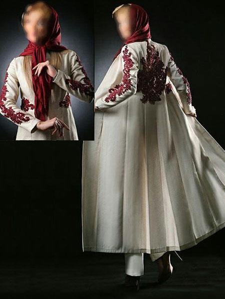 مدل مانتو مجلسی  , عکس مدل جدید مانتو مجلسی آناهیتا جلالی