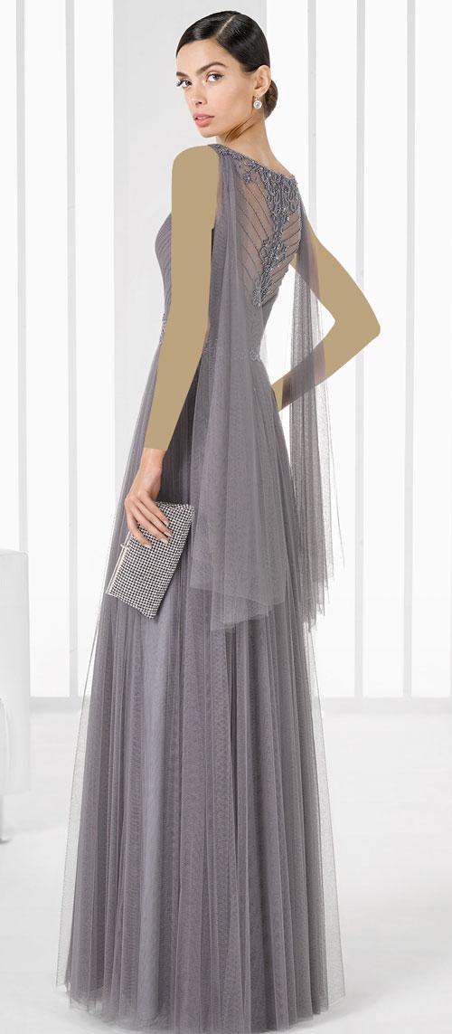مدل لباس زنانه  , مدل لباس مجلسی بلند و شیک Rosa Clara