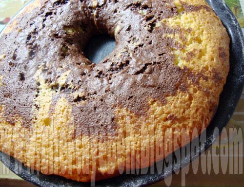 نان، شیرینی، دسر  , طرز تهیه کیک کره ای