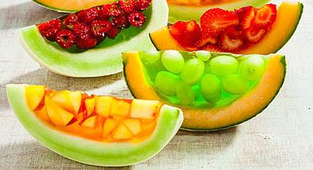 تزیین ژله با میوه,عکس تزیین ژله با میوه,روش تزیین ژله با میوه
