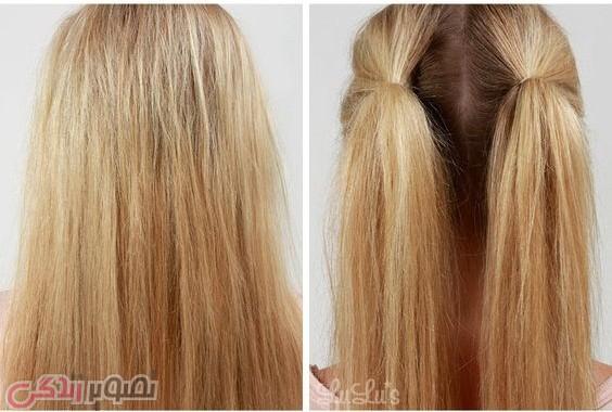 مدل و آرایش مو  , آموزش آرایش موهای بلند / شینیون ساده مو