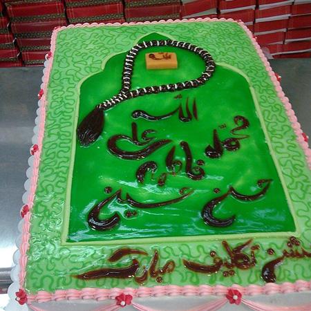 مدل کیک جشن تکلیف,طرح کیک جشن تکلیف,تزیین کیک جشن تکلیف