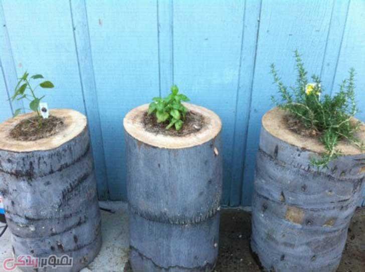 آموزش هنرهای دستی  , ایده هایی برای ساخت گلدان خانگی