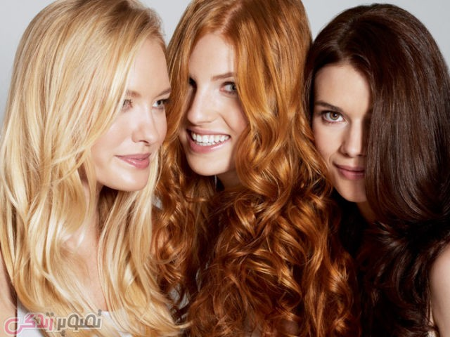 لوازم آرایشی  , فرمول ترکیب رنگ مو های زیبا و پرطرفدار