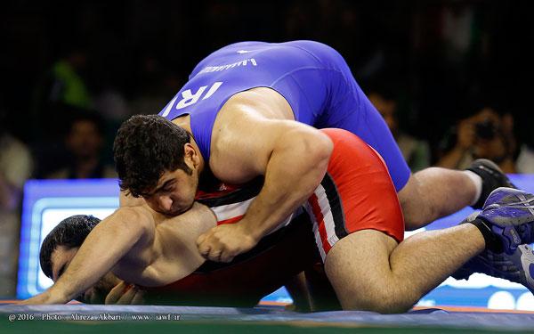 تیم کشتی فرنگی ایران قهرمان جهان