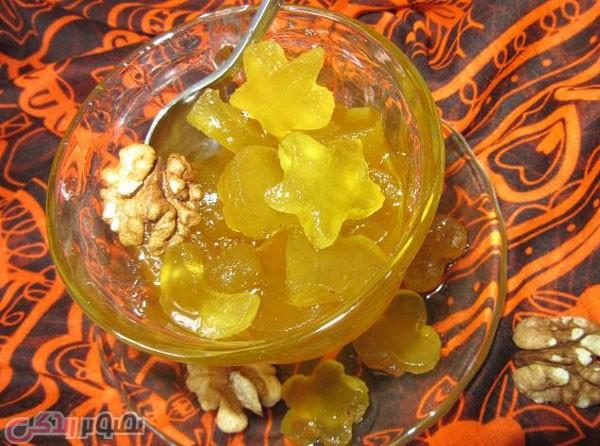 مربا، ترشی، سس  , طرز تهیه مربای پوست هندوانه به دو روش