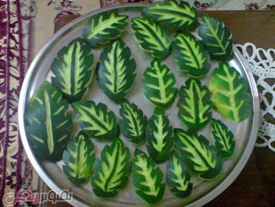 مربا، ترشی، سس  , طرز تهیه مربای پوست هندوانه با آهک