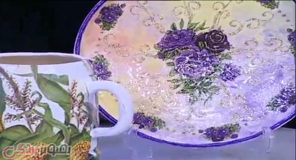 عکس طرح ظروف چینی