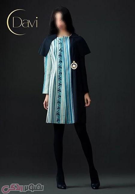 عکس شیک ترین مدل مانتو Davi | مدل مانتو جدید