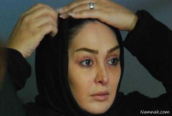 عکس بدون آرایش الهام حمیدی