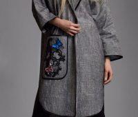 مدل مانتو جلو باز 2016