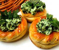 نان پنیر سبزی مجلسی