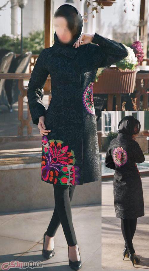 مدل جدید مانتو مجلسی , مدل مانتو جدید , مدل مانتو دخترانه , مانتو 95