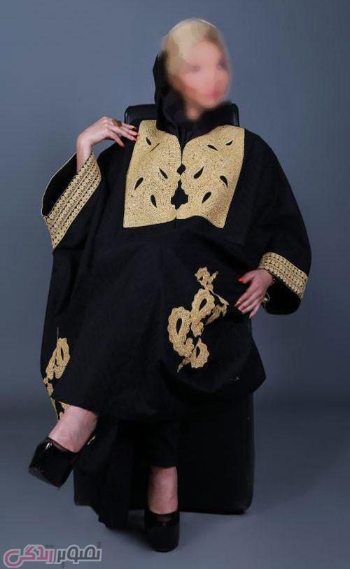 مدل مانتو عبایی, مدل مانتو مجلسی