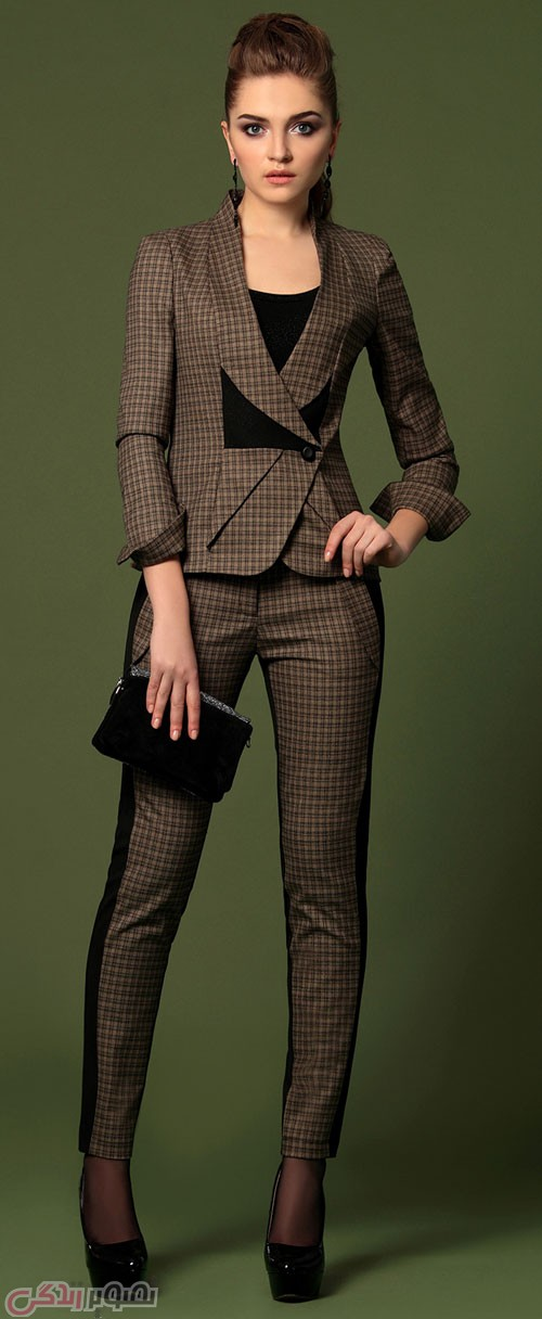 مدل کت و شلوار زنانه , کت و شلوار مجلسی زنانه