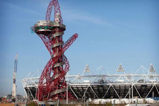اخبار تکنولوژی و فناوری  , بلندترین سرسره جهان در لندن + عکس