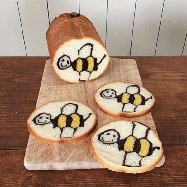 نقاشی های زیبا در نان,نان فانتزی