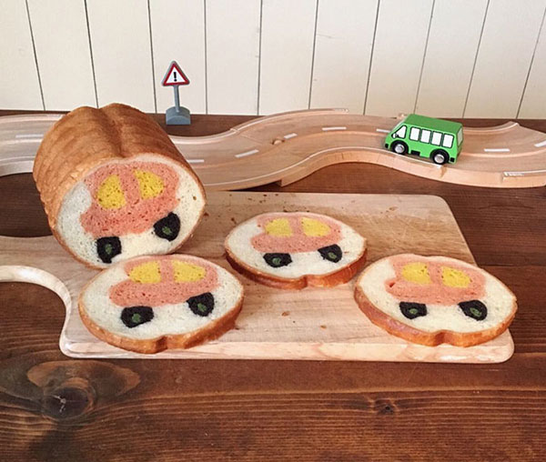 نقاشی های زیبا در نان