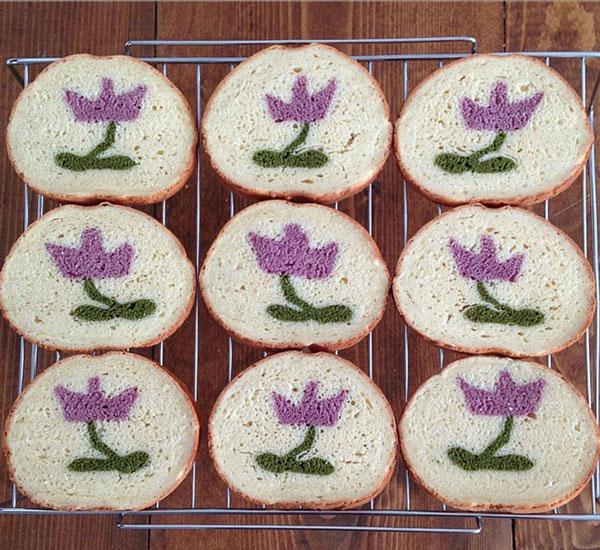 نان فانتزی,نان تست نقاشی شده