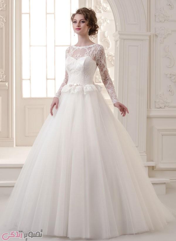 لباس عروس آستین دار, لباس عروس آستین بلند, لباس عروس پوشیده