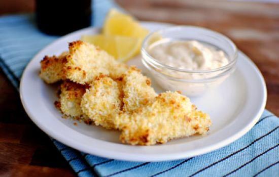 ناگت ماهی , غذا با ماهی