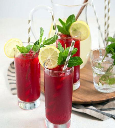 لیموناد چای ترش نعنایی, نوشیدنی بعد افطار