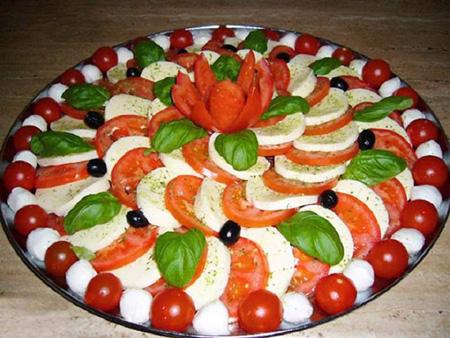 تزیین پنیر برای افطار, ایده های تزیین پنیر برای افطار