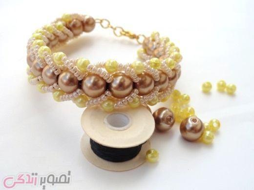 دستبند مرواریدی, ساخت دستبند با مهره