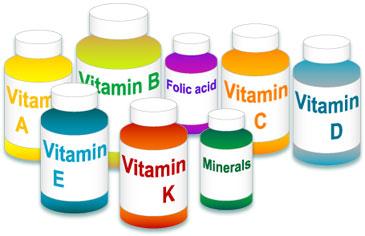 عوارض کمبود ویتامین ها