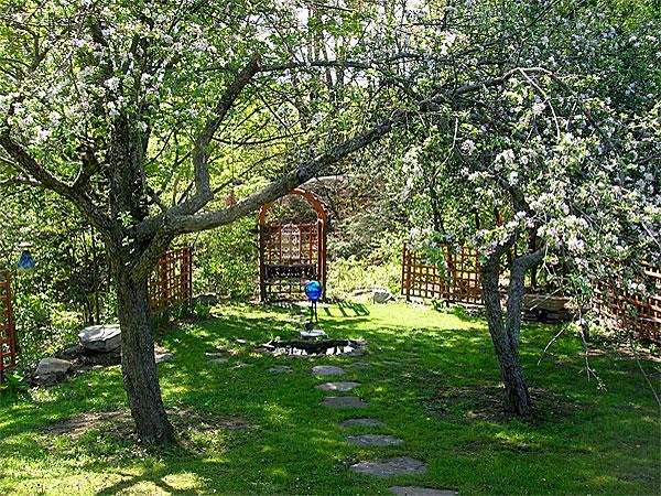 داستان کوتاه  , داستان آموزنده و کوتاه مرد تاجر و باغ زیبا