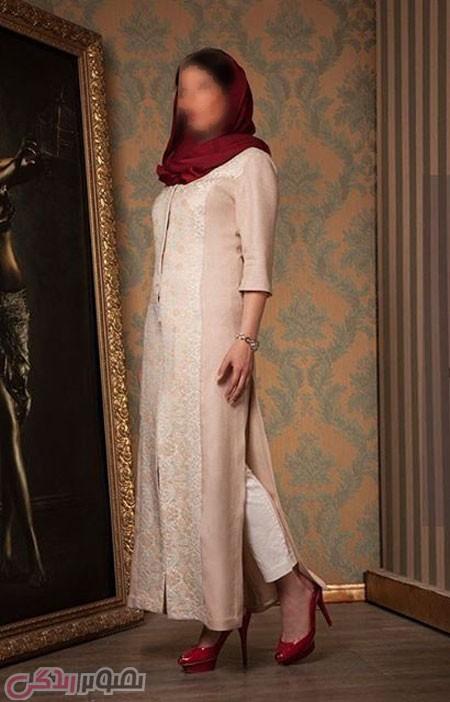 مدل مانتو مجلسی , مانتو بلند زنانه