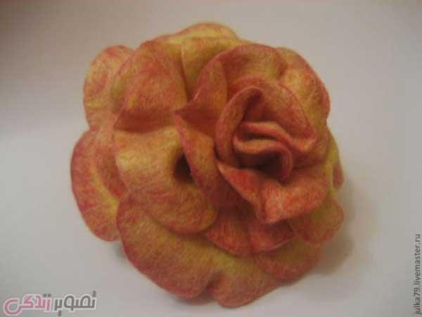 کچه دوزی,گچه دوزی,گل رز کچه ای,گل رز گچه ای